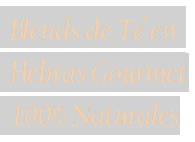 blends de te en hebras